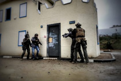 AAR – ESA Austria – Breaching & CQB Training