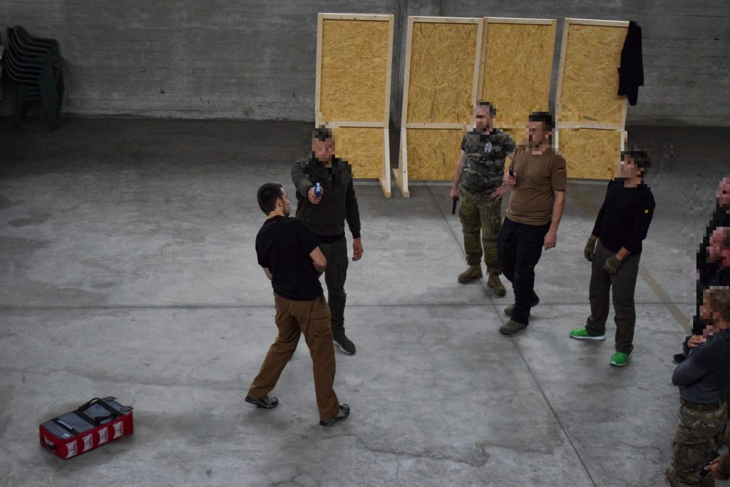 Krav Maga Weapons Training