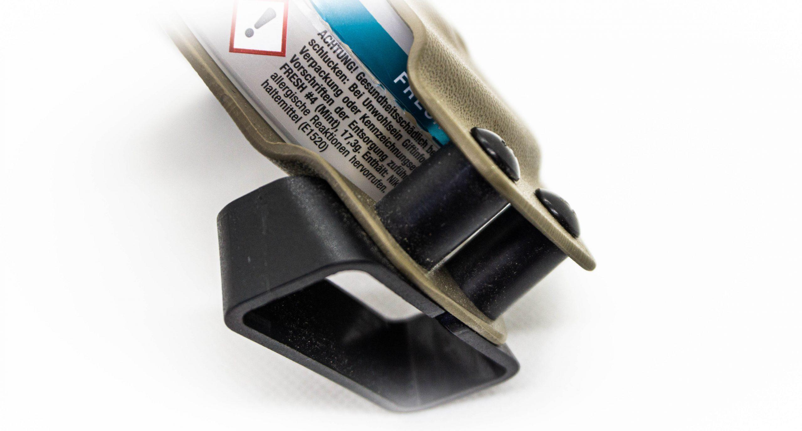 Kydex Snus Carrier Black trident