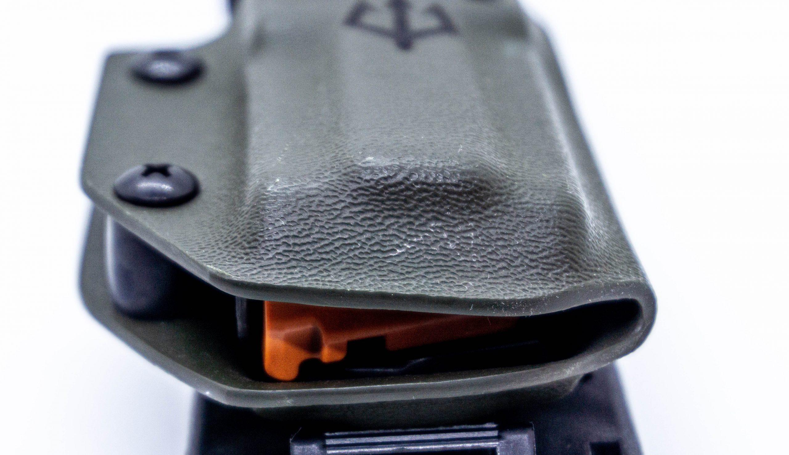 Black trident 9mm Kydex Mag Carrier